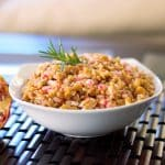 Italian Farro Salad with Pomegranate, Goat Cheese and Walnuts