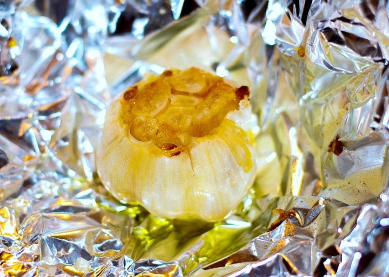 Roasted Garlic After