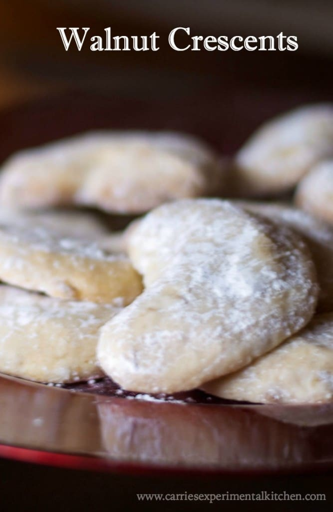 These rich, buttery Walnut Crescents are my all time favorite Christmas cookie. They're simple to make and never disappoint.