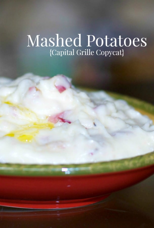 Capital Grille Christmas Eve Menu 2020 Mashed Potatoes Capital Grille Copycat | Carrie's Experimental