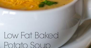 Baked Potato Soup (Low Fat)