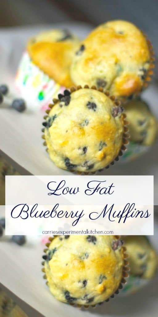 Muffins, like these Low Fat Blueberry Muffins, freeze beautifully and make a quick, morning breakfast on the run.