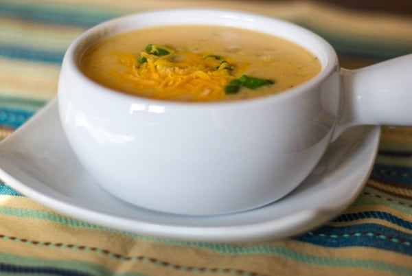 Low Fat Baked Potato Soup