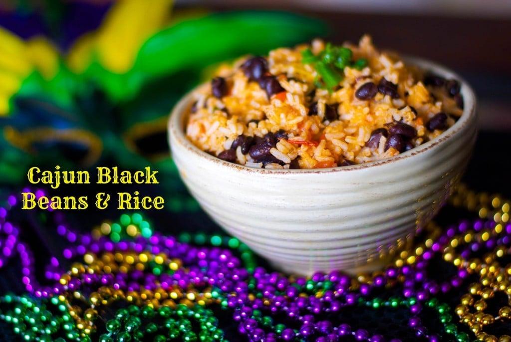 Cajun Black Beans & Rice