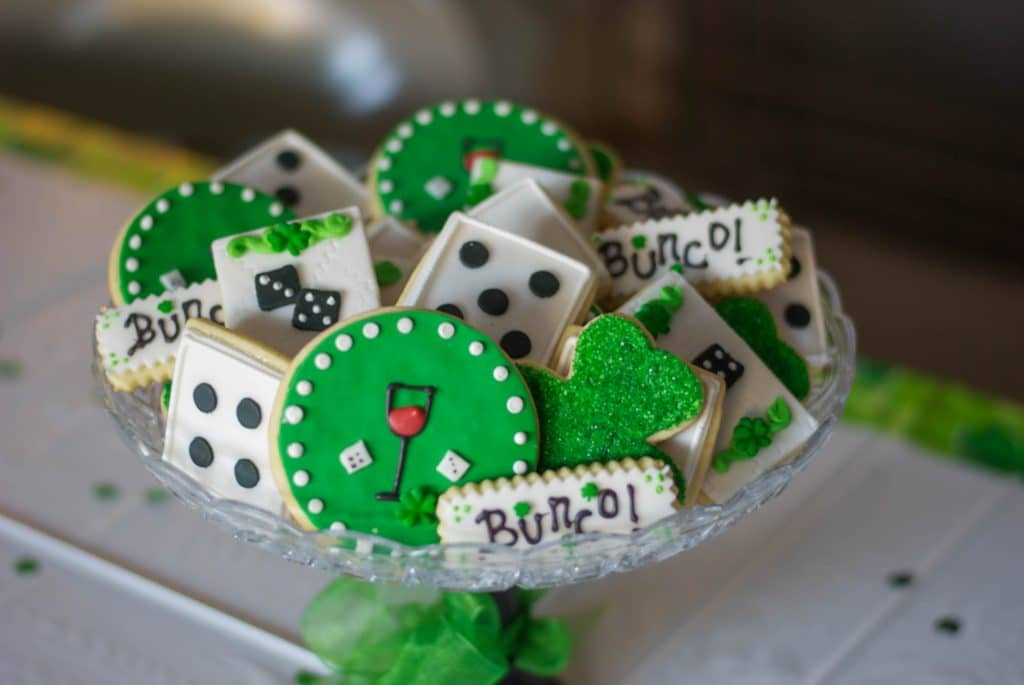 Irish Bunco Cookies