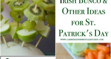 Irish Bunco and Other Ideas for a St. Patrick's Day Celebration