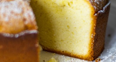 Lemon Cream Cheese Poundcake