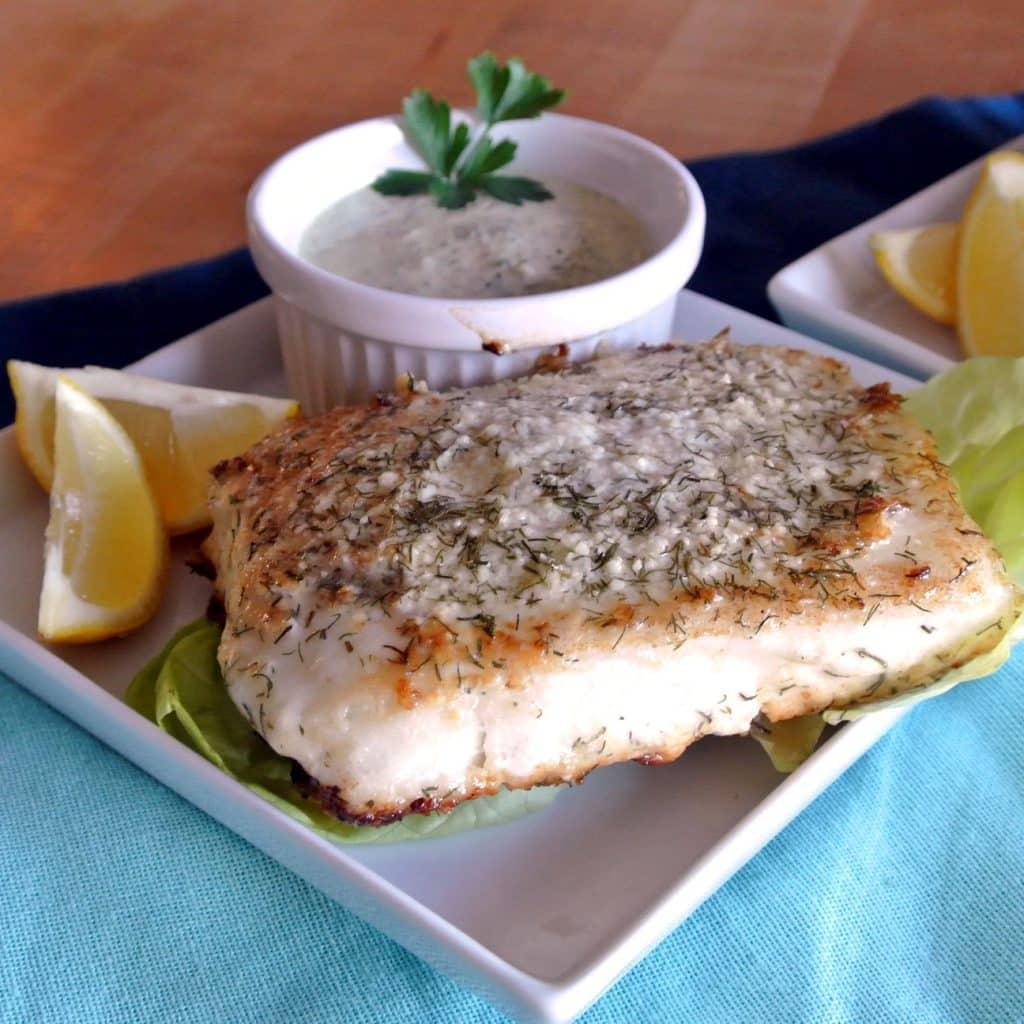 Parmesan Sea Bass