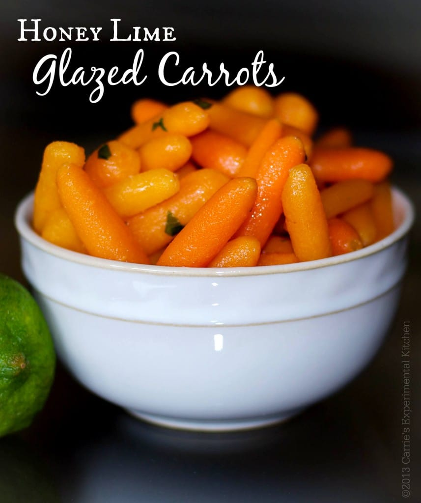 Honey Lime Glazed Carrots | Carrie's Experimental Kitchen #carrots