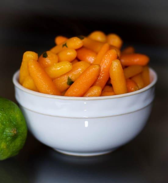 Honey Lime Glazed Carrots