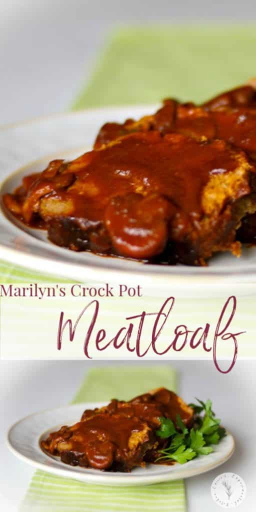 Let the crock pot do all the work in this flavorful Crock Pot Meatloaf made with lean ground beef, mushrooms and spices in at tomato based sauce.
