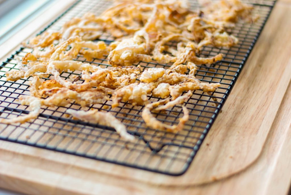 Vanilla Almond Onion Straws-Carrie's Experimental Kitchen