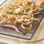 Vanilla Almond Onion Straws