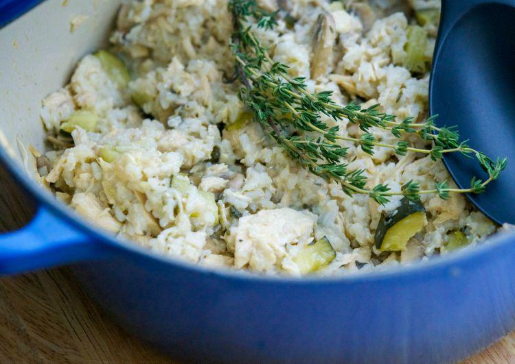 Chicken.and Rice with Zucchini-horizontal