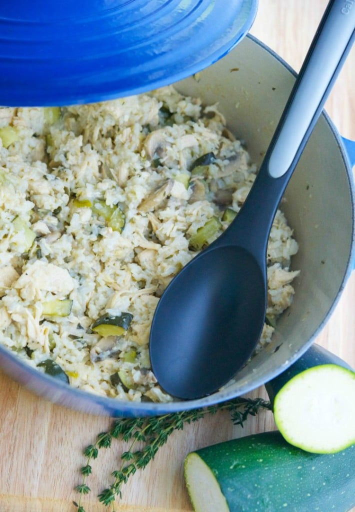Chicken.and Rice with Zucchini_