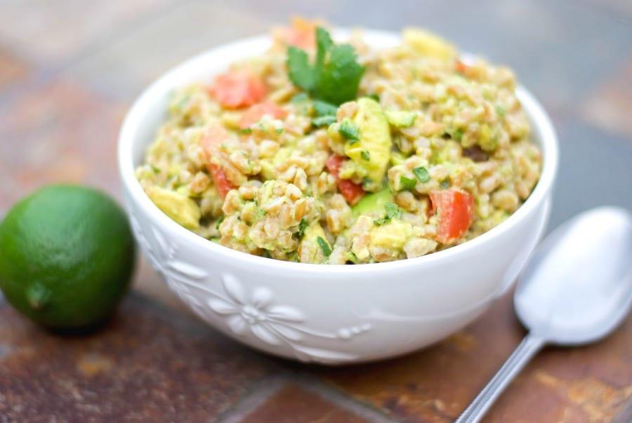 Guacamole Farro Salad
