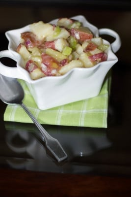 Red Bliss Potato Salad with Dijon Vinaigrette2-Carrie's Experimental Kitchen
