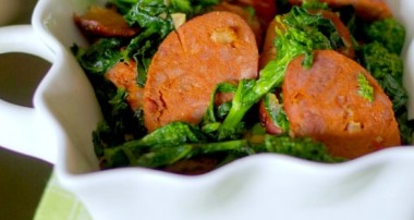 Broccoli Rabe with Chorizo