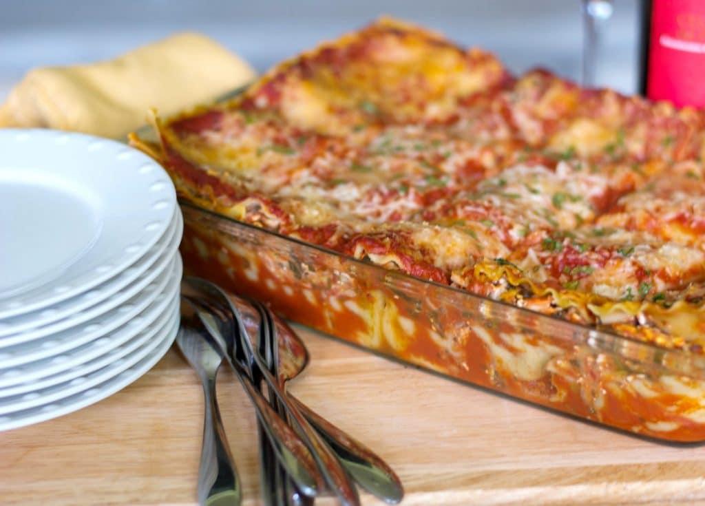 Low Fat Vegetable Lasagna