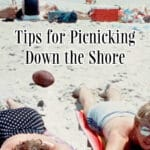 Summer is here so check out these helpful tips for picnicking down the shore including the basics, food and entertainment.