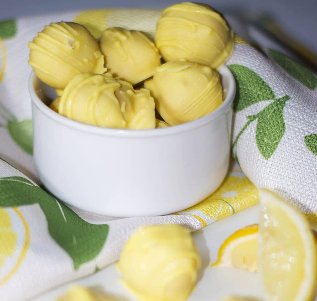 Oreo Lemon Drops