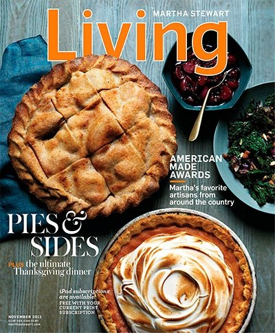 Martha Stewar Living Magazine Cover