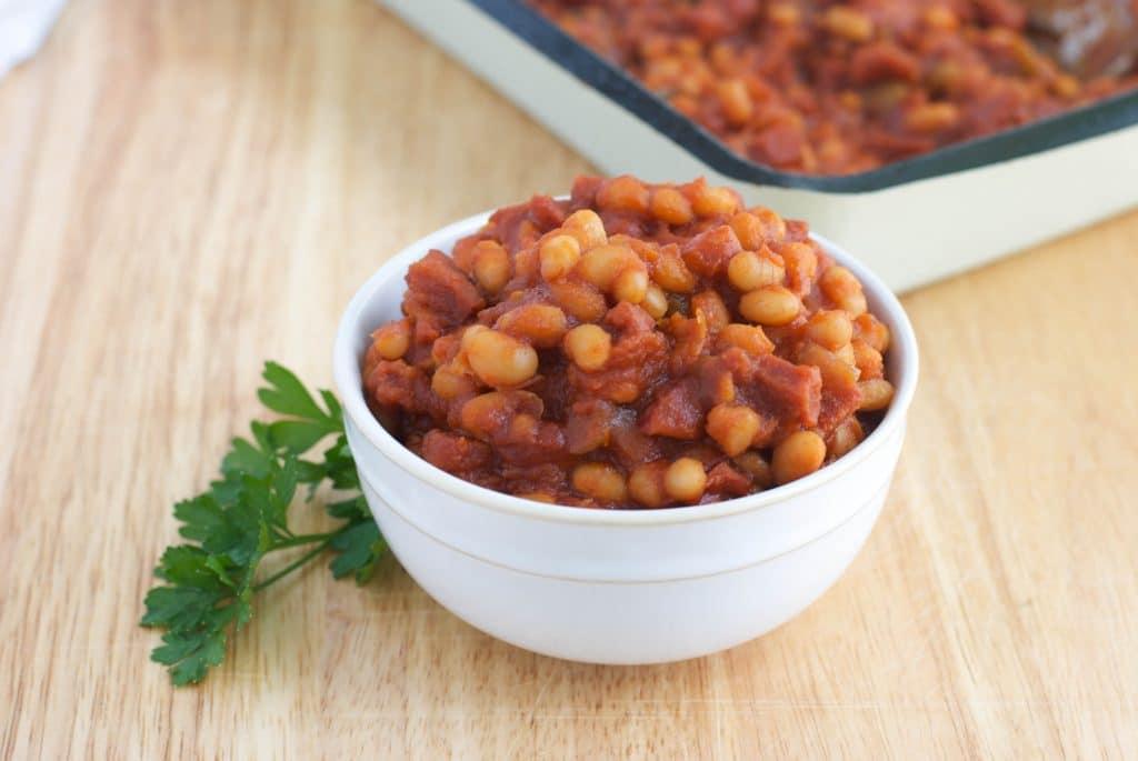 Linda's Portuguese Baked Beans