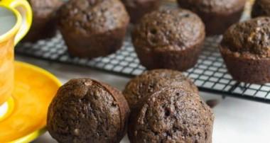 Triple Chocolate Zucchini Muffins