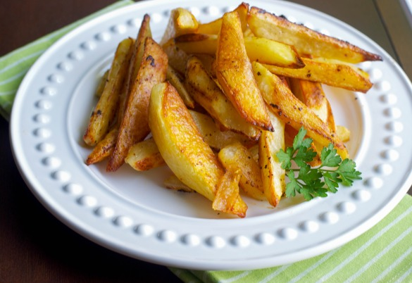 Buffalo Roasted Potato Wedges