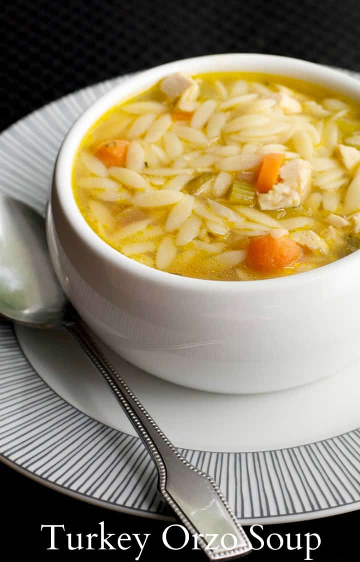 Turkey Orzo Soup From Carrie S Experimental Kitchen