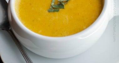 Carrot & Sage Soup