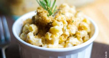 Rosemary & Goat Cheese Mac n' Cheese