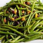 Haricot Vert Salad with Cranberries & Pistachios