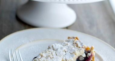 Blueberry Almond Crumb Cake