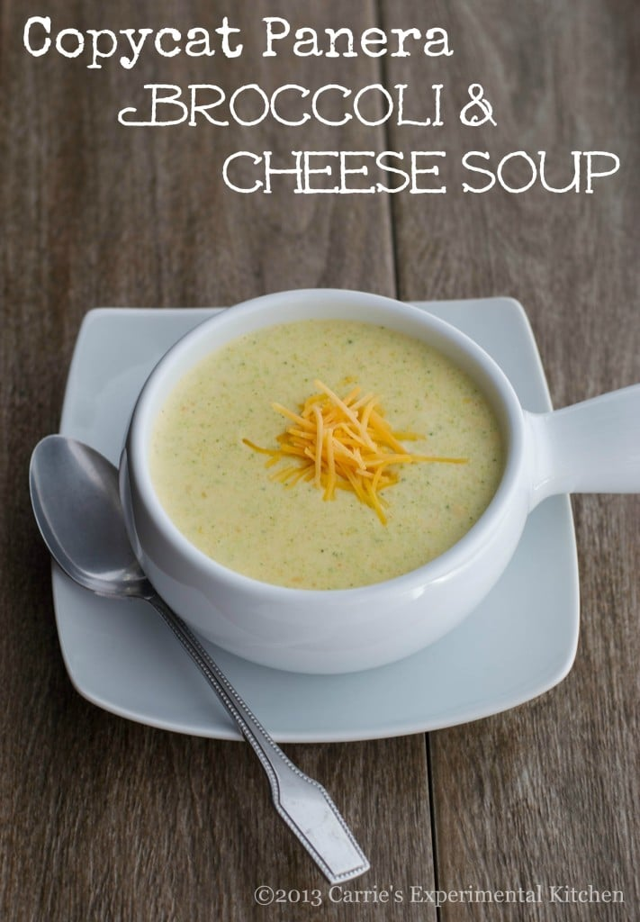Enjoy one of your favorite restaurant menu items at home with my version of Panera's Broccoli & Cheese Soup.