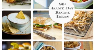 80+ Super Bowl XLVIII Game Day Recipe Ideas