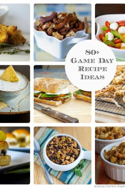 80+ Game Day Recipes