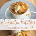 Do you love the Capital Grille's Au Gratin Potatoes as much as my family does? Learn how you can make this cheesy side dish at home.