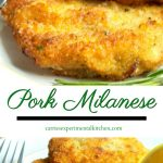 Italian Style Pork Cutlet Milanese is a rosemary and lemon seasoned boneless, breaded center cut pork cutlet that makes a quick and simple weeknight meal