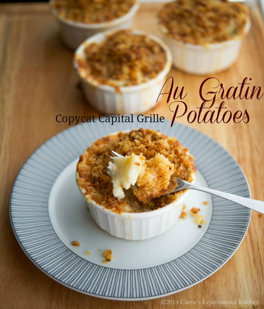 Copycat Capital Grille Au Gratin Potatoes | Carrie's Experimental Kitchen