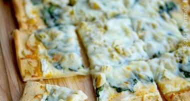 Spinach & Artichoke Flatbread