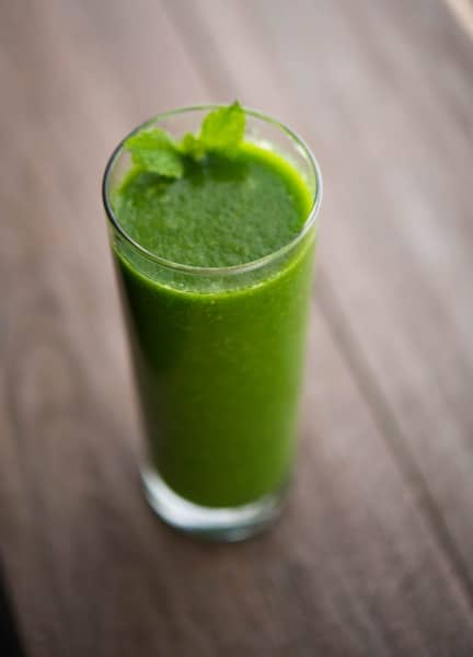 Spinach, Pear & Mint Smoothie