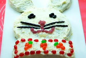 Carrot Cake Easter Bunny Cake