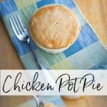 Repurpose leftover chicken or turkey into a new weeknight meal with this delicious Individual Chicken Pot Pie in less than an hour.