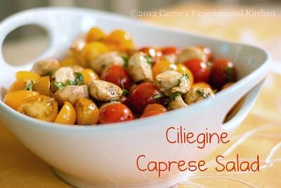 Ciliegine Caprese Salad