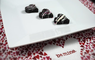 Berry Burst Oreo Heart Truffles