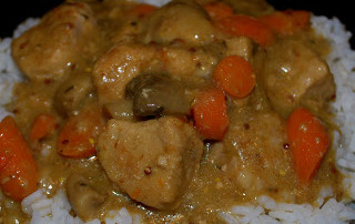 Dijon Cognac Pork Stew