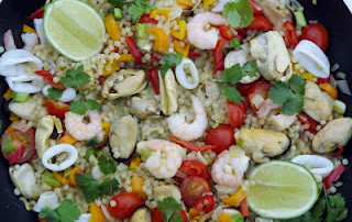 Week 15: Seafood Frenzy Friday AND Guest Blogger