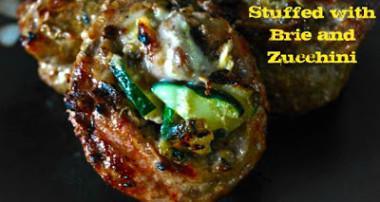 Flank Steak Stuffed with Brie & Zucchini