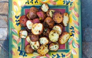 Gremolata Roasted Potatoes